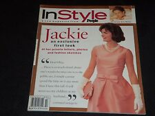 1995 OCTOBER IN STYLE MAGAZINE - JACKIE KENNEDY FRONT COVER - FASHION - J 3075