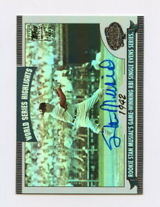 Stan Musial 2004 Topps World Series Highlights Autographs AG0067