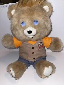 Teddy Ruxpin 2017 Animated Storytelling Bluetooth Plush Bear LED Eyes Works