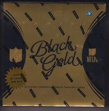 2015 Panini Black Gold Football sealed hobby box 2 packs of 5 cards 2 auto