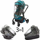 guzzie Guss 3-in-1 Rain Cover, Fits Most Bassinets, Car Seats, and Pod Style...