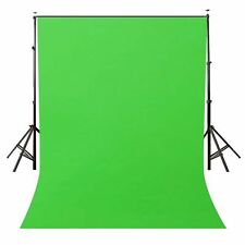 LYLYCTY Background 5x7ft Non-woven Fabric Solid Color Green Screen Photo Back...