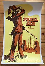 PEARL JAM - Saskatoon, Canada 2005 Poster by AMES BROS *RAR*