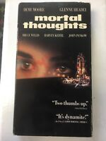 Mortal Thoughts (VHS, 1991, Closed Captioned)