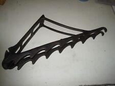Vintage iron tack rail / hooks  horse  Equestrian