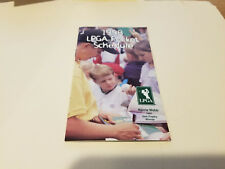 LPGA 1998 Women's Golf Pocket Schedule Booklet - LPGA Pro Shop