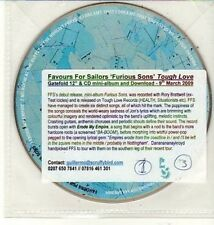(DC988) Favours For Sailors, Furious Sons - 2009 DJ CD