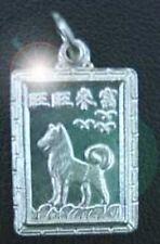 Chinese Dog Zodiac Pendant Libra Silver CHARM Jewelry