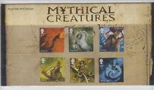 GB 2009 MYTHICAL CREATURES PRESENTATION PACK No 428 SG 2944-2949 MINT STAMP SET
