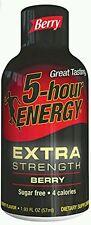 5 Hour Energy Extra Strength Energy Shots Berry 12 pk Extra Strength  Berry