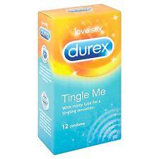 Durex Tingle Me Condoms - 12 Pack - Exp 07/2018