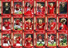 Manchester United 2017 Football League Cup final winners trading cards