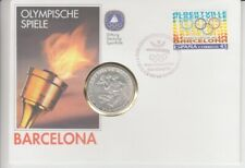 Numisbrief Germany 10 DM Silver Olympic Games Barcelona - 1992
