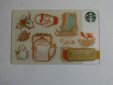 2014 - Wintertime - Holiday Issue Starbucks Cards - New-Never Swiped