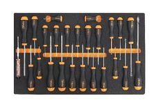 BETA m210 Set Cacciaviti Master in morbida schiuma Modulo Vassoio 024500210