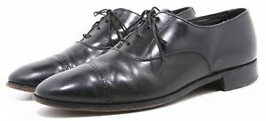 Bostonian USA Made Mens Dress Shoes Size 9.5 Leather Genuine Captoe Oxfords