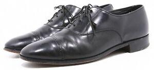 Bostonian USA Made Mens Dress Shoes Size 9.5 Leather Genuine Captoe Oxfords