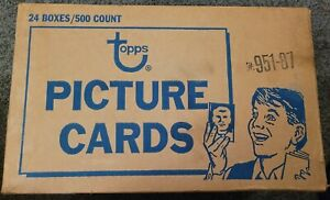 1987 TOPPS BASEBALL UNSEARCHED UNSEALED VENDING CASE #951-87