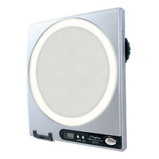 Zadro 5X / 1X LED Lighted Fogless Shower Magnifying Mirror Shaving