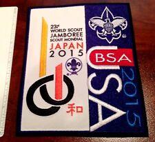 Official USA Contingent Jacket Patch 23rd World Jamboree Yamaguchi Japan 2015