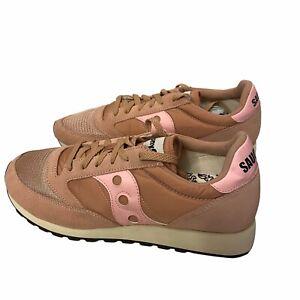 SAUCONY Jazz Original Vintage Running Shoes Sneaker Mens sz 11 Pink Salmon