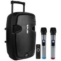 "Pyle PPHP1299WU Portable Hi-Power Bluetooth PA Loudspeaker, 12"""