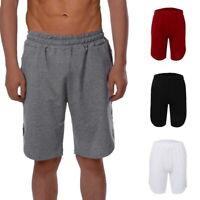 Homme Été en Coton Confortable Sport Fitness Couleur Unie Shorts Pantalons 25