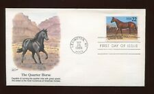'THE QUARTER HORSE' 1985 FIRST DAY ISSUE STAMP/ENVELOPE