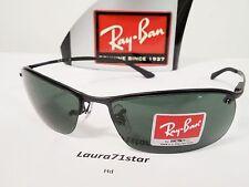 RayBan TopBar 3183 Nero Black 006/71 63-15 occhiali sole sunglasses Icons Style