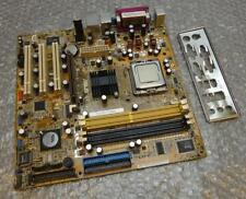 Asus P5VDC-TVM/S Rev.1.00g Prise 775 Carte Mère Complet avec Plaque Arrière