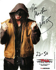 TNA THE MONSTER ABYSS P-36 HAND SIGNED AUTOGRAPHED 8X10 PROMO PHOTO WITH COA