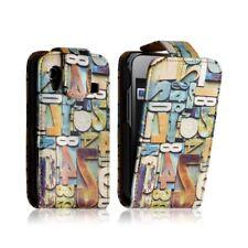 housse etui coque pour Samsung Galaxy Ace S5830 motif + Film de protection