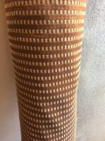 10m Bronze Copper Beige Jacquard Flame Retardant Upholstery Fabric