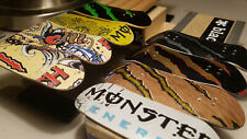 Monster Energy Metal Bottom Wooden Fingerboard Pro Deck