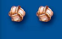 ANNEAU Boucles d'oreilles anneau Clou Or Rose Anneau clous 8mm
