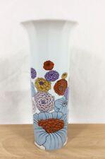"Rosenthal Germany Studio Line TAPIO WIRKKALA Floral Polygon 10"" Vase Vtg 1979 EX"