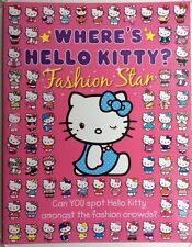 KS1 Where's Hello Kitty? Girl's Activity Book Paperback Matching Spot Difference