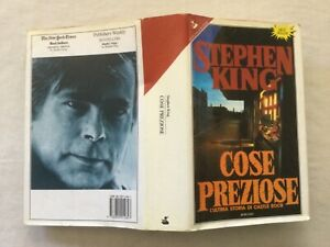 Stephen King COSE PREZIOSE Sperling & Kupfer, 1 edizione 1992
