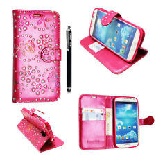 NEW FLIP WALLET PU LEATHER PHONE CASE COVER FOR SAMSUNG GALAXY S3/S3 MINI,S4