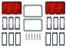 Ford Mustang Tail Light Bezel Surround Kit 1968 68 Coupe Fastback Convertible GT
