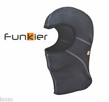Funkier UH-03 Men's Winter Balaclava Black Under Helmet Head Mask n Lycra Fabric