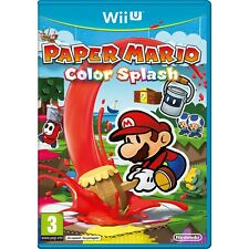 Paper Mario: Color Splash (Nintendo Wii U, 2016)