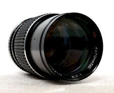 HELIOS 135mm 2.8 MC Telephoto Portrait Lens for M42 fit