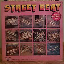 Street Beat Vinyl LP 1984 Sugar Hill Double LP Crash Crew Trecherous Melle Mel