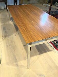 Vintage Couchtisch Tisch Palisander original Chrom Top Zustand - Versand möglich