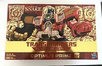 Transformers Hasbro Platinum Edition Optimus Prime Year Of The Snake