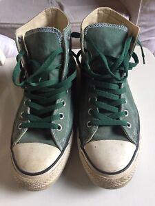Converse All Star Classic, Sneaker Unisex - Verde Numero 42