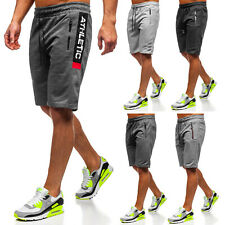 Kurzhose Shorts Trainings Bermudas Kurze Hose Hosen Herren Mix BOLF Motiv WOW