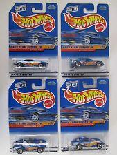 Hot Wheels Race Team Series 4 1997 Complete 4 Car Set Original Cards