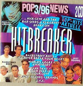 Hitbreaker 3/96 - Dr.Alban, Paula Abdul, Just Friends, Marque u.a.  - 2 CDs